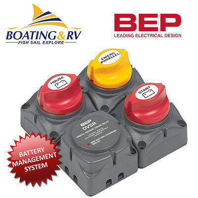 BEP Square Battery Distribution Cluster inc VSR - Battery Switch Management