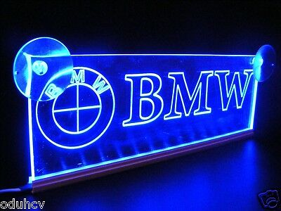 12V LED Cabin Interior Light Plate for BMW Truck Neon Illuminating Table Sign