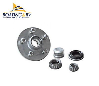 Galvanised Lazy Hub Ht Lm Bearings - Holden Bearings for Boat Trailers