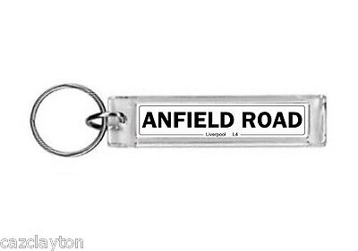 Liverpool Anfield Road Street Sign / Keyring / Football Fc
