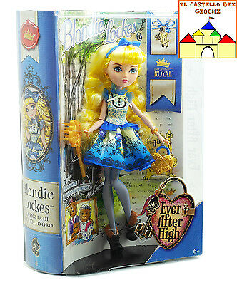 Ever After High Bambola BLONDIE LOCKES 30cm by Mattel BJG92