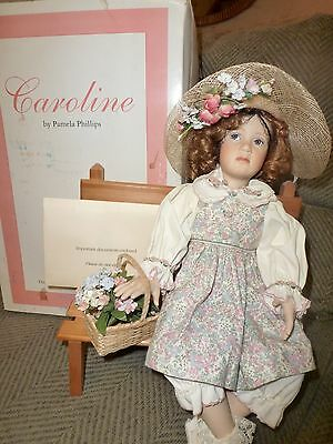 Georgetown Collection Porclean Doll 'Caroline' by Pamela Phillips