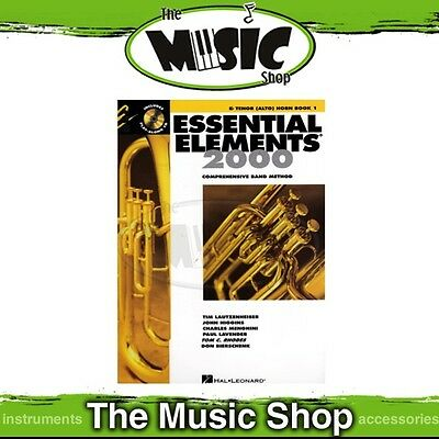 New Essential Elements for Band: Eb Tenor (Alto) Horn Book 1 & OLA - Band Method
