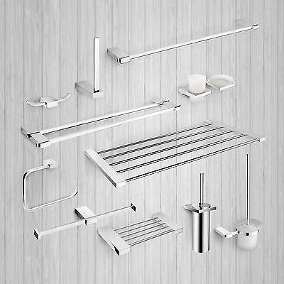 retro glass bathroom shelf and brackets used picclick uk. Black Bedroom Furniture Sets. Home Design Ideas