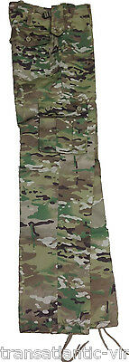 Multi Cam Us M65 Style Combat Trousers Army Mtp Airsoft Cadet Fishing Work Pants