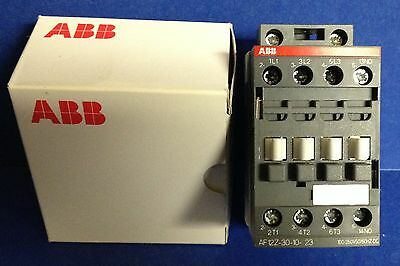ABB Block Contactor # AF12Z-30-10-21 ~ 3 Pole ~ 10 HP ~ 600 VAC ~ New in Box!!