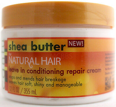 Cantu Shea Butter For Natural Hair Leave-In Conditioning Repair Cream  12 Oz.