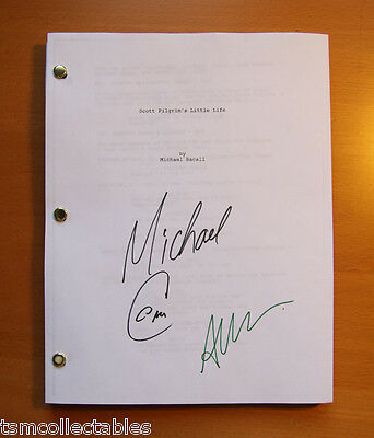 SCOTT PILGRIM vs. THE WORLD Michael CERA signed script Alison PILL autographed