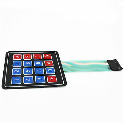2pcs 4x4 4*4 Matrix Array 16 Key Membrane Switch Keypad for Arduino AVR PIC