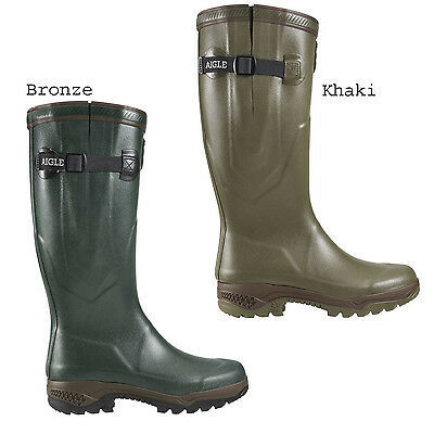 Aigle Wellies Parcours 2 ISO - Latest edition Insulated Wellington Boots (Pair)