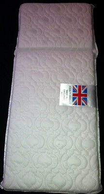 COACH PRAM DELUXE SAFETY MATTRESS for Silver Cross Tenby - FULLY BREATHABLE