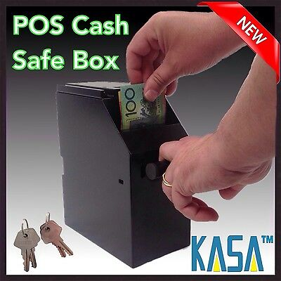 2016 Series IV KASA Point of Sale POS Cash Safe Box Under Counter with 4 keys