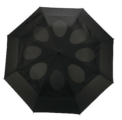 Windproof Umbrella Brolly Folding Compact Double Vented Unisex Strong Open Close