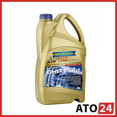 RAVENOL ATF 6HP Fluid 4L (BMW, Audi/VW, Land Rover, Jaguar, Ford, ZF)