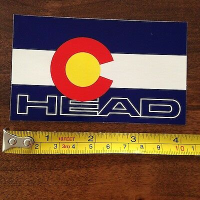 HEAD Skis STICKER Decal COLORADO NEW