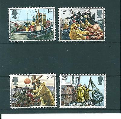 Commems - 1981 - Fishing Industry   -  Unmounted  Mint Set