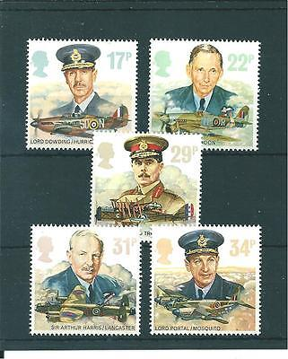 Commems - 1986 - History - Royal Air Force   -  Unmounted  Mint Set
