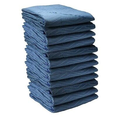 "Economy Moving Blankets - (12 Pads) Utility Moving Pads 72"" x 80"" - 35 lbs/dozen"