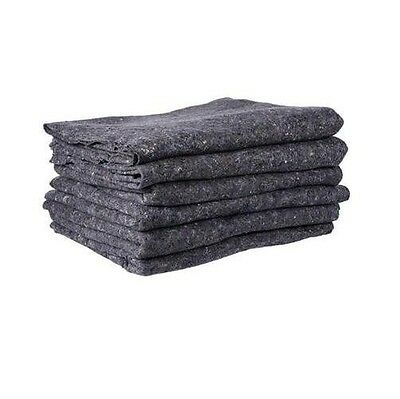 Textile Moving Pads - (6 Pads) Skin furniture Moving Blankets - 22 lbs./dozen