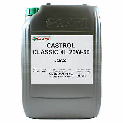 Castrol Classic XL 20W-50 classic engine oil - 20 litres 20L