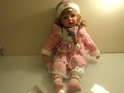 Baby Doll Girl Massive Large 58cm Doll Brand New  Cute Pinky Brown **Random Sent