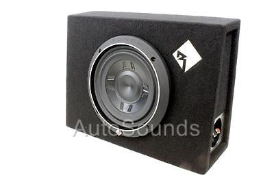 "Rockford Fosgate P3S-1X8 NEW P3 8"" Shallow Loaded Truck Subwoofer Box Enclosure"