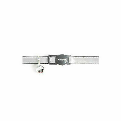 Safety Buckle Cat Collar Gloss Reflective Silver x 3 - Accessories - Cat - Colla