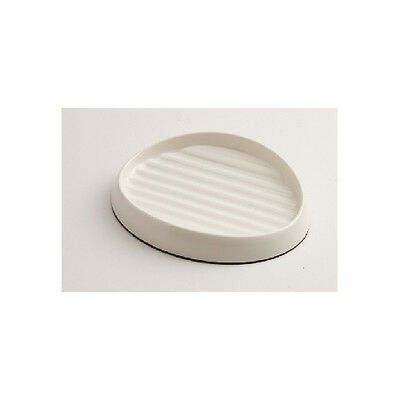 Whisker 1 Shallow Bowl Ivory 16x12x3.5cm Accessories - Dog & Cat Bowls - Plastic