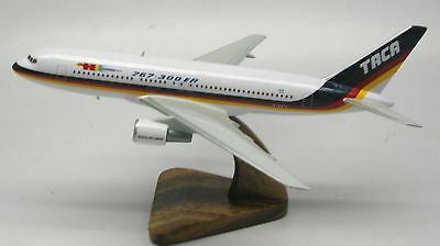 Boeing B-767 TACA Airlines Airplane Desktop Model Replica Small Free Shipping