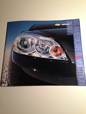 2007 Chevy Impala 30-page Original Sales Brochure