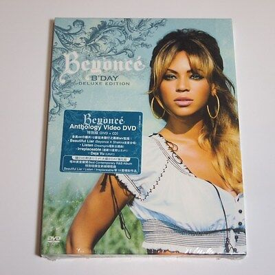 Beyonce - B'Day HONG KONG DVD+CD BOX SET NEW SEALED Limited MEGA RARE