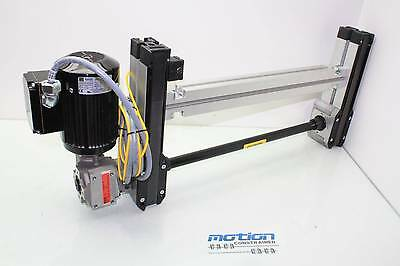 "Rexroth PCB Belt Conveyor R980800968 Bodine 42Y6BFPP Motor 25"" Wide x 13"" Long"