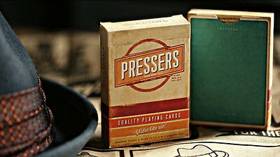 New Pressers Playing Cards Deck By Ellusionist