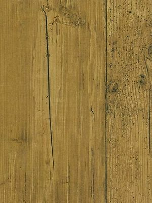 Antique Oak with Wood Grain and Knot Sure Strip Wallpaper NT5882