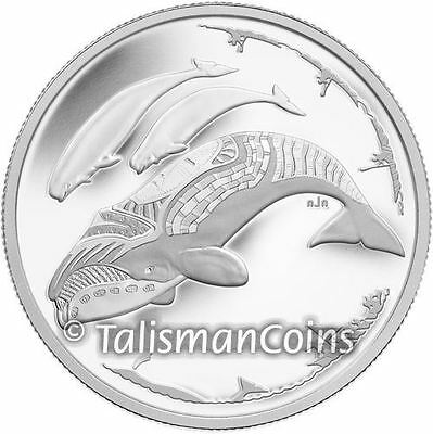 Canada 2013 Life in North Arctic Inuit Beluga Whale Hunt $3 Pure Silver Proof