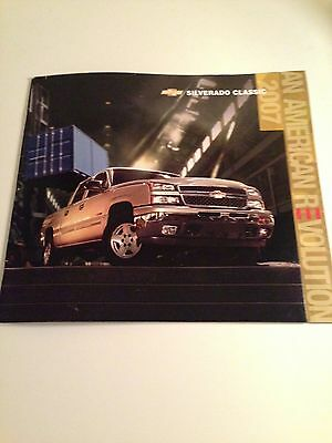 2007 Chevy Silverado 36-pg Original Sales Brochure