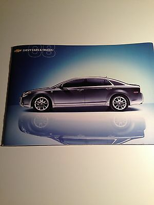"2008 Chevy ""Full Line"" Cars & Trucks 44-page Original Sales Brochure"