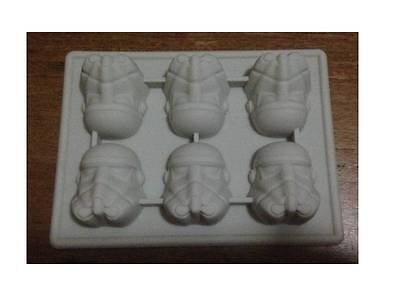 Star Wars Storm Trooper Silicone Chocolate Ice Cake Mold Mould Party Novelty Fun