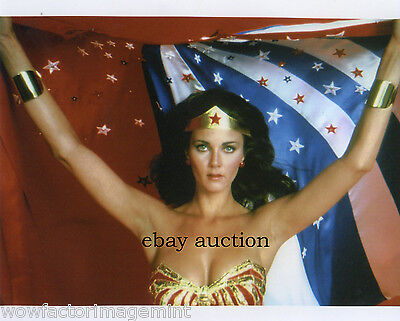 Lynda Carter Wonder Woman ( of DC Comics ) RIDICULOUSLY SEXY 8 x 10 photo ( 75 )