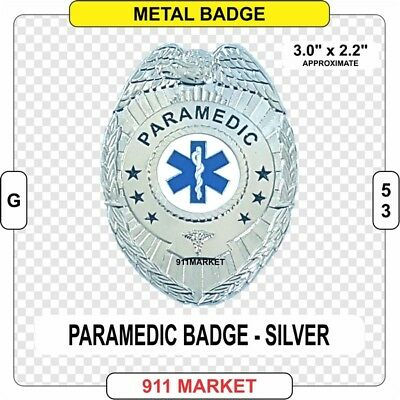 Paramedic Badge Eagle Top Emergency Medical Technician Service EMT Patch EMS G48