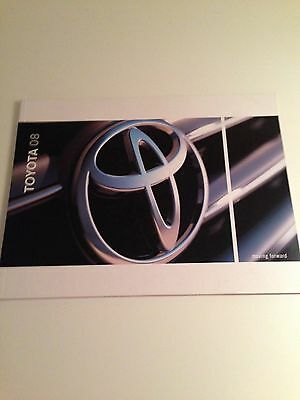 2008 Toyota Full Line 56-page Original Sales Brochure