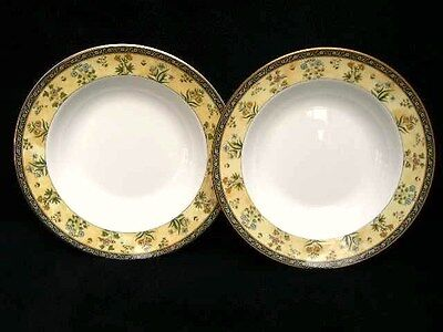 """2 WEDGWOOD INDIA PASTA BOWLS PLATES 11"""" (28cm) BEST QUALITY & NEW FROM SHOP G1"""