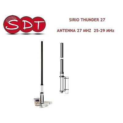 "SIRIO ""ORGINALE"" THUNDER 27 ANTENNA 27 MHZ  25-29 MHz DA BASE"