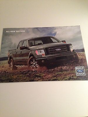 2009  Ford F150 8-page Original Sales Brochure