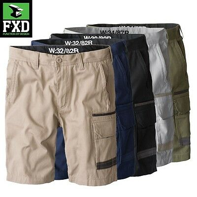 FXD WS-1 Tradie WORK SHORTS navy khaki black green all sizes