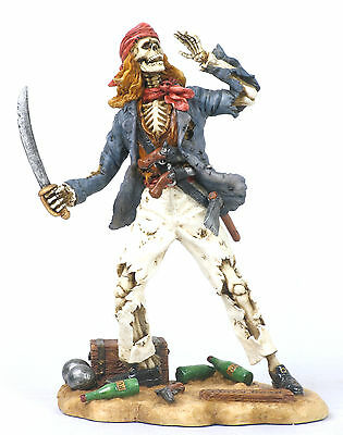 Mary Read Pirate Statue/Figurine Poly Resin 8 inches Tall