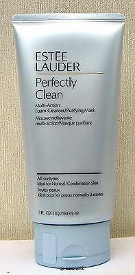 Estee Lauder Perfectly Clean Multi Action Foam Cleanser/Purifying Mask - 150ml