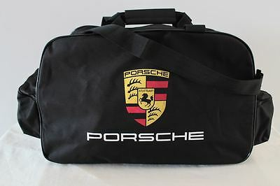 PORSCHE TRAVEL / GYM / TOOL / DUFFEL BAG 911 944 cayenne carrera boxster flag