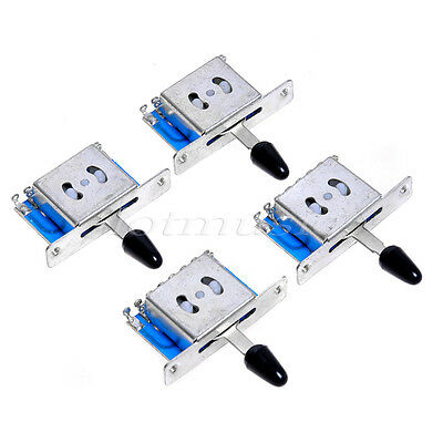 3 Way Toggle Switch Pickup Selector for Electric Guitar Parts Gold ...