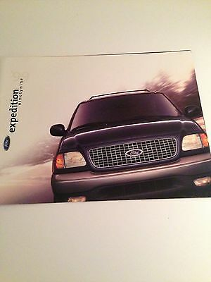 1999 Ford Expedition 22-page Original Sales Brochure